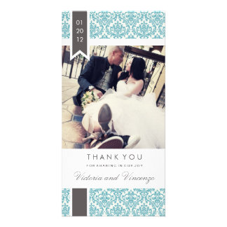 TRUE LOVE | WEDDING THANK YOU PHOTO CARD
