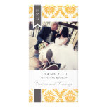 TRUE LOVE | WEDDING THANK YOU PHOTO GREETING CARD