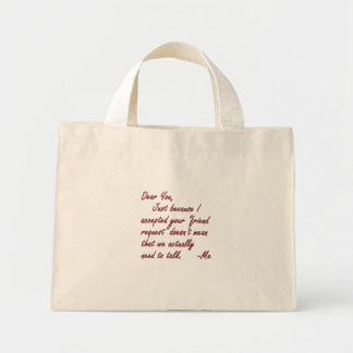 True meaning of friendship canvas bag