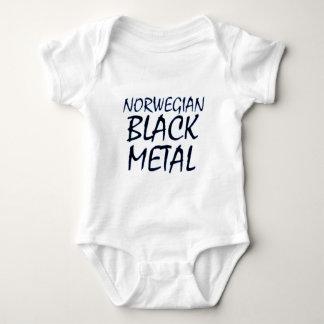 True Norwegian Black Metal Baby Bodysuit