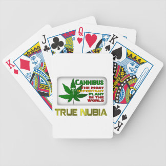 True Nubia Gear & Merchandise Bicycle Playing Cards