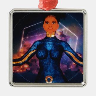true_nubia_mascot1 metal ornament