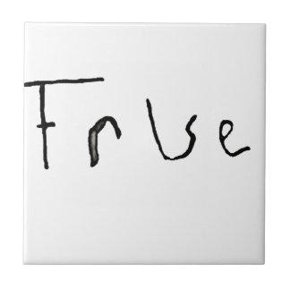True or False Ceramic Tile