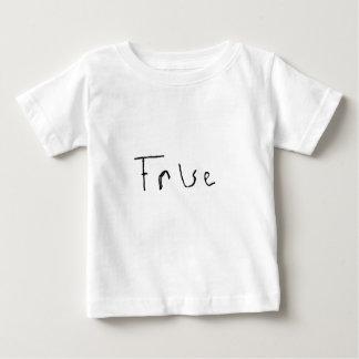 True or False Infant T-shirt