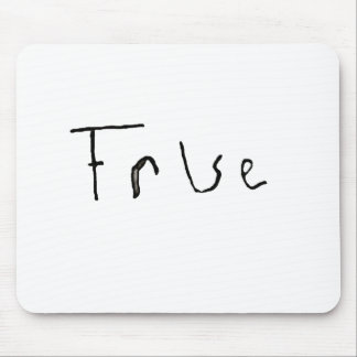 True or False Mouse Pad