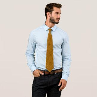 True Orange Sunstone Jewel Foulard Satin Tie