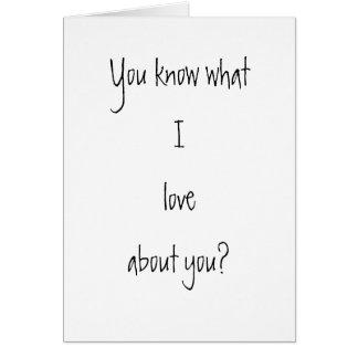 True Original Greeting Card