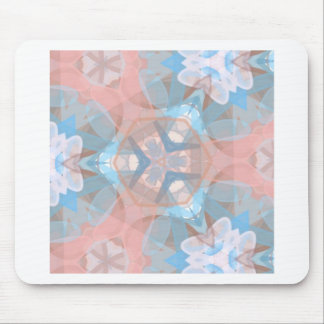 True Pinkish Blue Mouse Pad