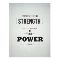 True Power - Inspirational Postcard