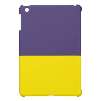 true purple and yellow iPad mini case