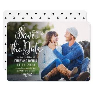 True Romance EDITABLE COLOR Save The Date Card