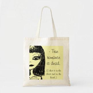 True romance ice dead. tote bags