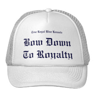 True Royal Blue Trucker Hat
