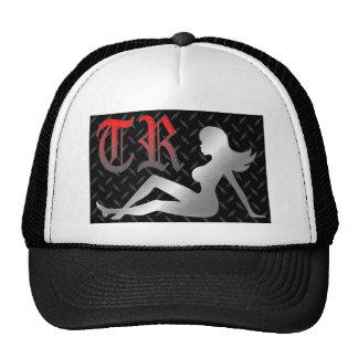 True Rumors Tucker Hat with Red Mud Flap