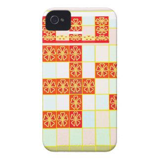 TRUE Saffron Color OM MANTRA Graphic Design Navin Case-Mate iPhone 4 Cases