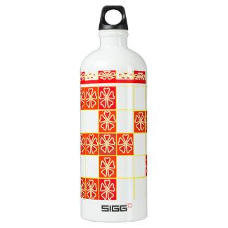 TRUE Saffron Color OM MANTRA Graphic Design Navin Water Bottle