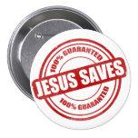 True Savior Pinback Buttons