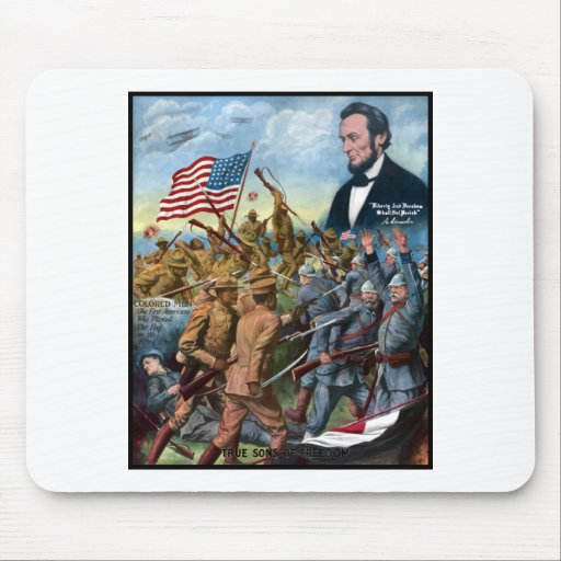 True Sons Of Freedom -- WWI Mouse Pad