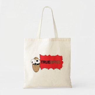 """True Spud"" Tote Bag Budget Tote Bag"