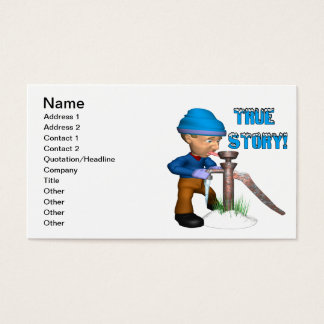 True Story Business Card
