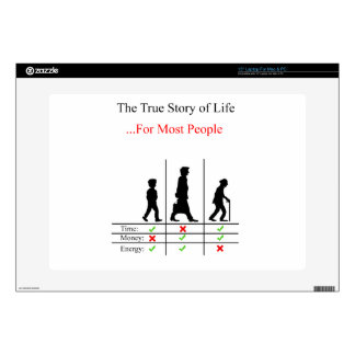 True Story Of Life Decals For Laptops
