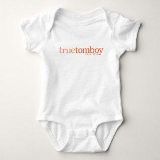 True Tomboy Girls Rule Baby Bodysuit