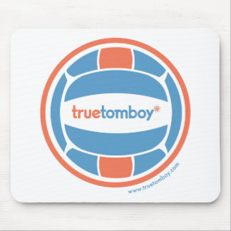 True Tomboy Volleyball Mouse Pad