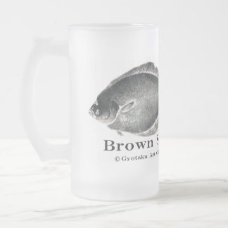 True turbot! A little more than difference < Shako Frosted Glass Beer Mug