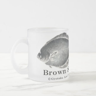 True turbot! A little more than difference < Shako Frosted Glass Coffee Mug