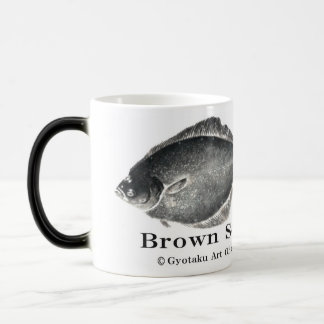 True turbot! A little more than difference < Shako Magic Mug