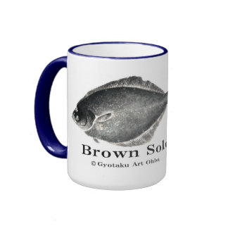 True turbot! A little more than difference < Shako Ringer Mug