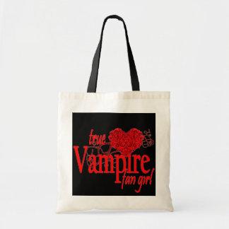 True vampire fan girl tote bag