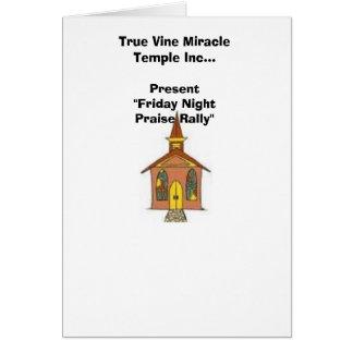 True Vine Card