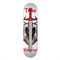 True Warrior Skateboard