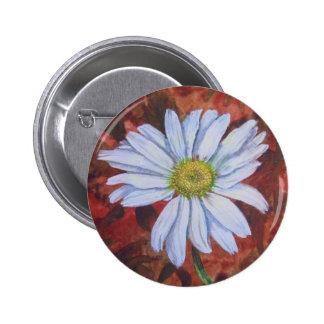 True Wild Daisy from Yorktown Pinback Button