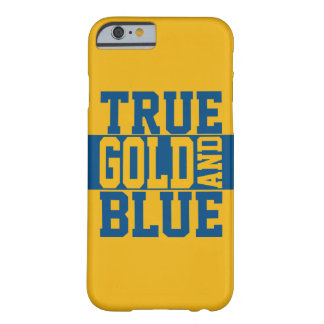 True WVU Gold And Blue Barely There iPhone 6 Case