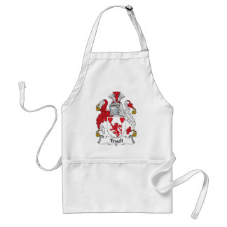 Truell Family Crest Adult Apron