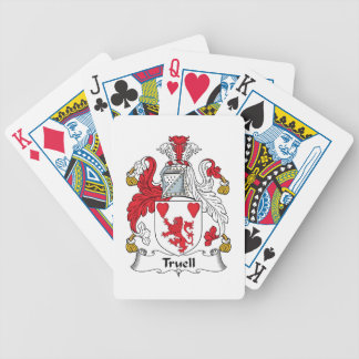 Truell Family Crest Bicycle Playing Cards