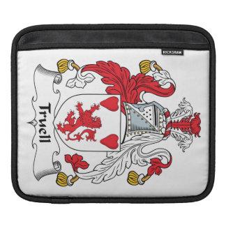 Truell Family Crest iPad Sleeves