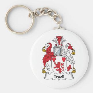 Truell Family Crest Keychains