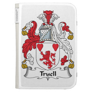Truell Family Crest Kindle Folio Case