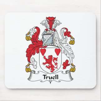 Truell Family Crest Mouse Pad