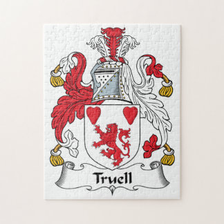 Truell Family Crest Puzzles