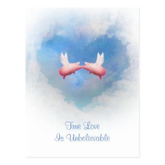 TrueLove Is Unbelievable Postcards