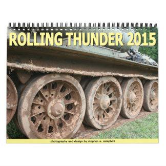 Trueno 2015 del balanceo calendario