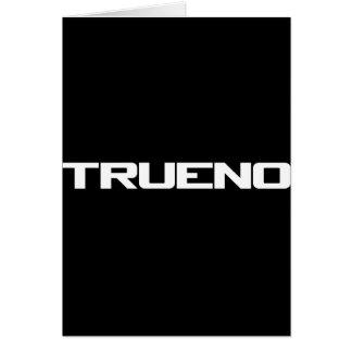 Trueno Card
