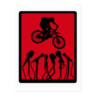 Trueno del ROJO de la bici Postal