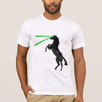 Trueno del tóxico del caballo del laser playera