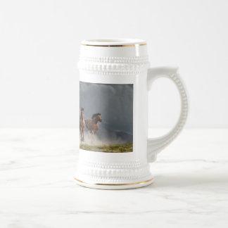 Trueno en los llanos tazas de café