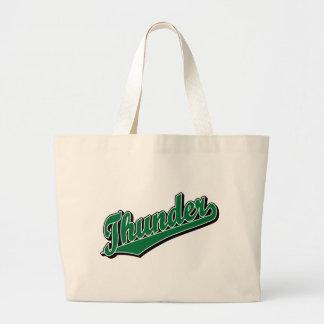 Trueno en verde bolsas